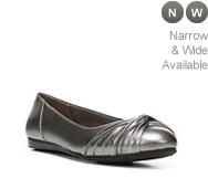 LifeStride Notorious Metallic Ballet Flat