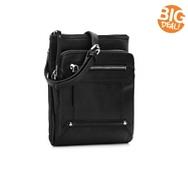 Perlina Leah Leather Crossbody Bag