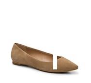 Audrey Brooke Nola Suede Ballet Flat