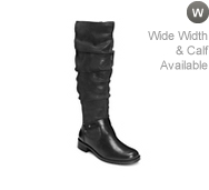 A2 by Aerosoles Ride With Me Wide Calf Riding Boot