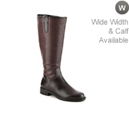 David Tate Quebec Wide Calf Boot