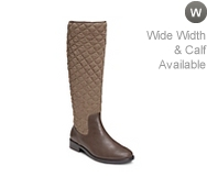 Aerosoles Establish Wide Calf Riding Boot