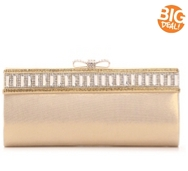 Lulu Townsend Embellished Bow Clutch
