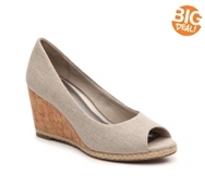 Kelly & Katie Alanis Wedge Pump