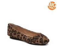 Me Too Page Leopard Ballet Flat