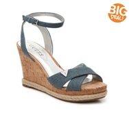 Guess Madolyn Denim Wedge Sandal