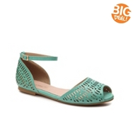 Restricted Carry Out Flat Sandal