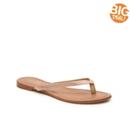 Mercanti Fiorentini Valentina Metallic Flat Sandal