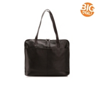 Latico Zipper Leather Tote