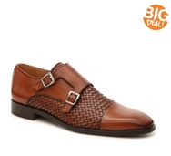 Mercanti Fiorentini Woven Monk Strap Slip-On