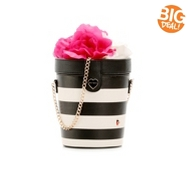 Betsey Johnson Flower Pot Crossbody Bag