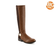 Journee Collection Disk Riding Boot