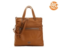 Fossil Dawson Leather Foldover Tote