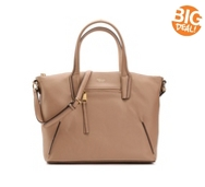 Perlina Mackenzie Leather Tote