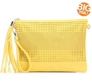 Kelly & Katie Perforated Clutch