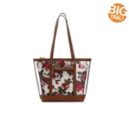 Kelly & Katie Floral Clear Tote