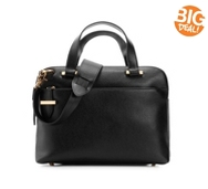 Lodis Stephanie Leather Satchel