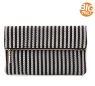 Urban Expressions Stripe Clutch