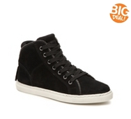Splendid Sebastian Suede High-Top Sneaker