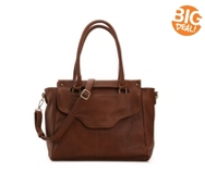 Madison West Flap Satchel