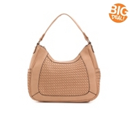 Madison West Woven Hobo Bag