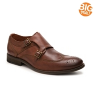 Johnston & Murhpy Brannon Monk Strap Slip-On