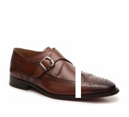 Florsheim Sabato Wingtip Monk Strap Slip-On