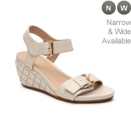 David Tate Twister Wedge Sandal