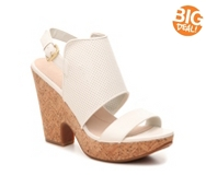 Naya Misty Perforated Leather Sandal
