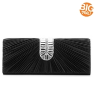 Lulu Townsend Ruched Clutch