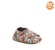 Stride Rite Firetruck Boys Infant Velcro Crib Shoe