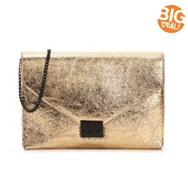 Loeffler Randall Lock Leather Clutch