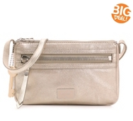 Fossil Dawson Leather Mini Crossbody Bag