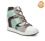L.A.M.B. Gera High-Top Wedge Sneaker
