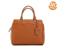 Cole Haan Alya Leather Satchel
