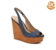 BCBGeneration Haven Nubuck Wedge Sandal