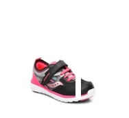 Saucony Baby Volt Girls Infant & Toddler Velcro Sneaker