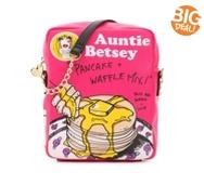 Betsey Johnson Pancake Mix Crossbody Bag