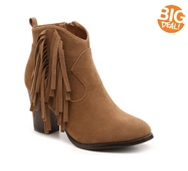 Journee Collection Spin Western Bootie