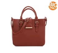 Madison West Buckle Satchel