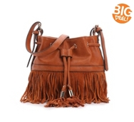 Moda Luxe Autumn Fringe Crossbody Bag