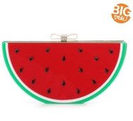 Lulu Townsend Watermelon Clutch
