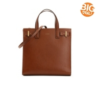 Lodis Scarlet Leather Tote