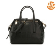 Perlina Mackenzie Leather Satchel