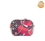 Trina Turk Crosiere Leather Crossbody Bag