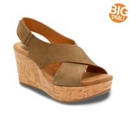 Clarks Artisan Caslynn Shae Wedge Sandal