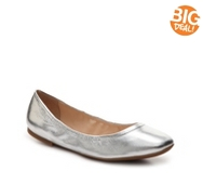 Nine West Girlsnite Metallic Ballet Flat