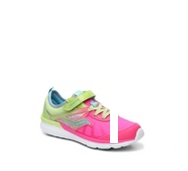 Saucony Volt Girls Toddler & Youth Velcro Running Shoe