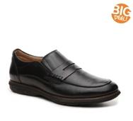 De La Rentis Leather Slip-On