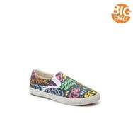 Bucketfeet Logo Style Girls Toddler & Youth Slip-On Sneaker